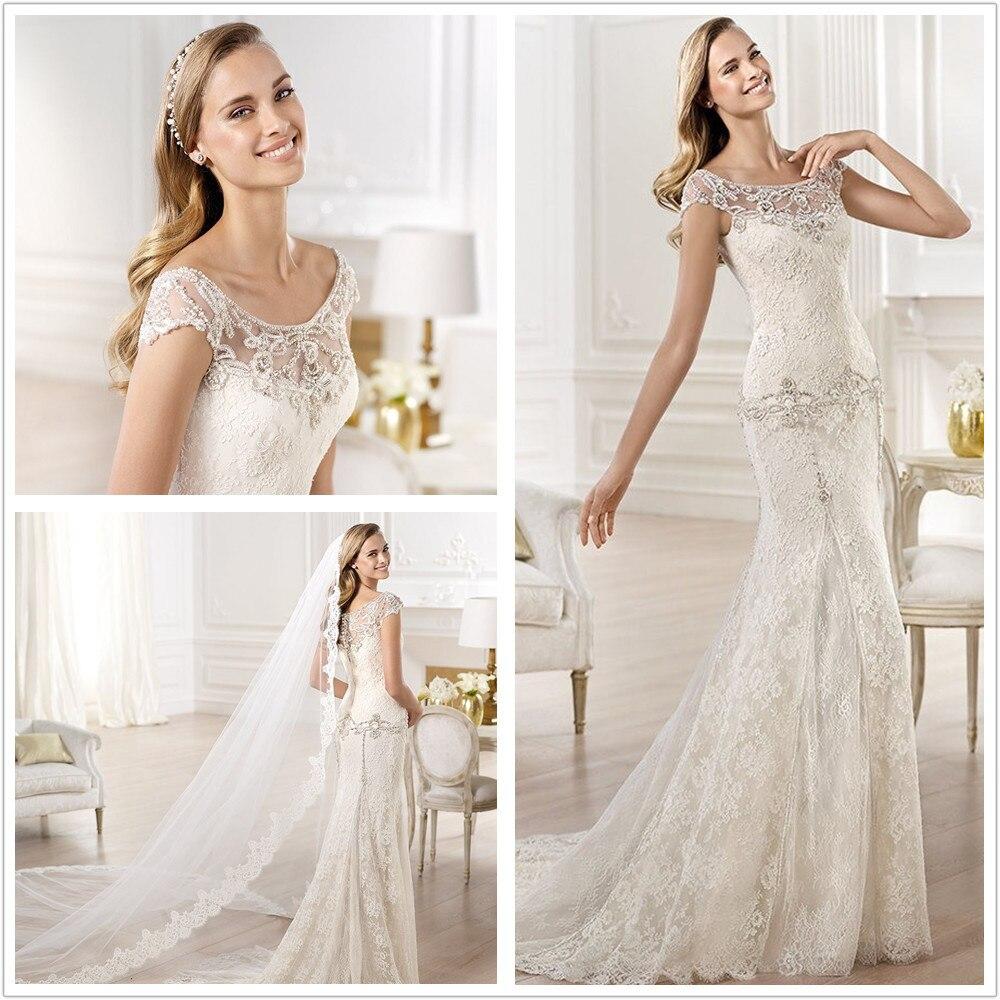 Best Time To Buy Wedding Dress: Vestido De Noiva Elie Saab Weddings Dress 2015 Luxury Lace