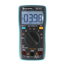 True RMS font b Digital b font font b Multimeter b font Thermometer Current Voltage Resistance