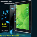 "Z2 TAB TScreen Guard For Sony Xperia Z2 TAB 10.1"" Tempered Glass Screen Protector Film 0.26mm Explosion-proof Anti Shatter"