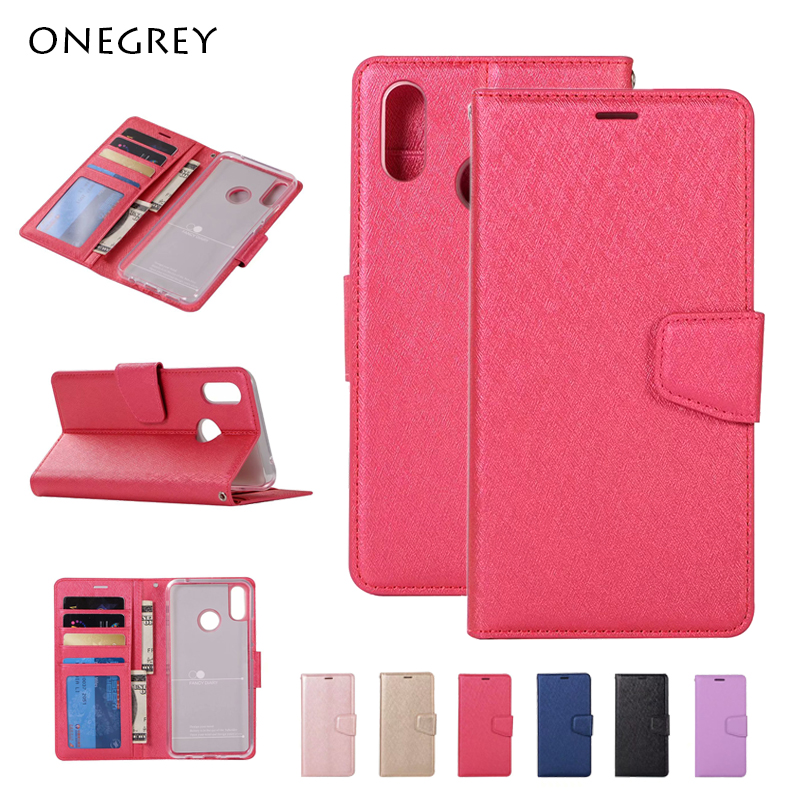 Case For Xiaomi Redmi 7 6A S2 Y2 Note 4 4X 5 6 7 Pro Leather Flip Wallet Cover For <font><b>Mi</b></font> 9 8 SE Lite 5X 6X A1 A2 Max 2 3 Mix2 F1 image