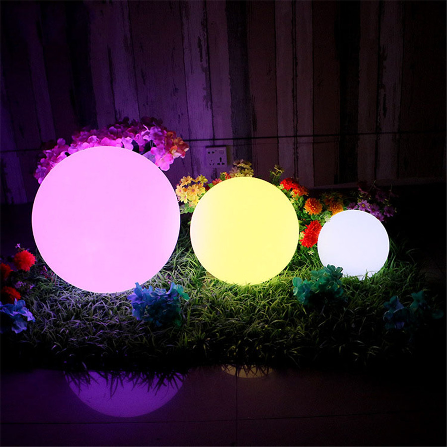 Com buy 10cm cube decorative battery operated rgb led table lamps - Rechargeable Rgb Led Illuminated Furniture Remote Control Outdoor Garden Lawn Lamps Ip68 Led Floating Ball For