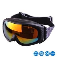 2019 new ski glasses Outdoor sport snow mirror for men women Anti fog Snow Goggles Cool motorcycle protective eyewear