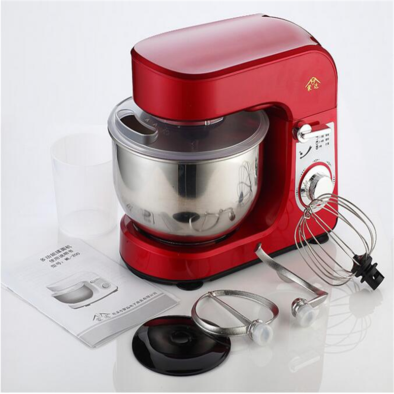 220V Multifunction 3.5L Doughmaker Food Dough Mixer Electric Egg Blender Milkshake Beater Kitchen Stand Mixer Christmas Gift multifunction table electric food mixers dough mixer egg beater 220v food blender for kitchen sonifer