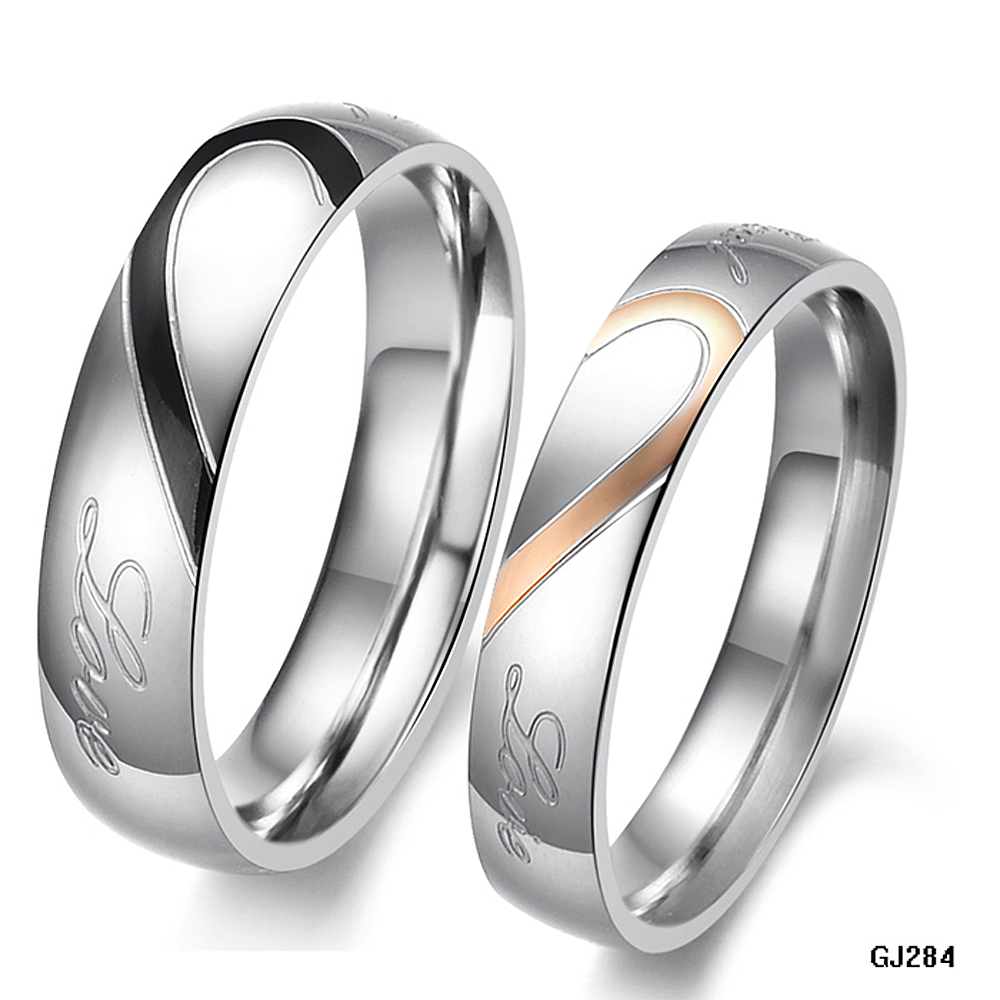 Popular Lovers Ring Set-Buy Cheap Lovers Ring Set lots from China ...