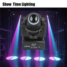 Fast delivery 30W dj Led image moving head with led strip disco lights high bright adjust the DMX 512 Show time