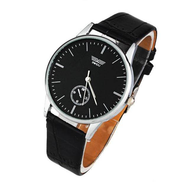 Fashion Mens Watches Top Brand Luxury Leather Quartz Clock Wristwatch Woman Watch Gift couple Meski Relogio Masculino