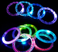 Free Shipping Color Changing LED Bracelet Light Up Bracelet Luminous Bracelet For Christmas Halloween YH213