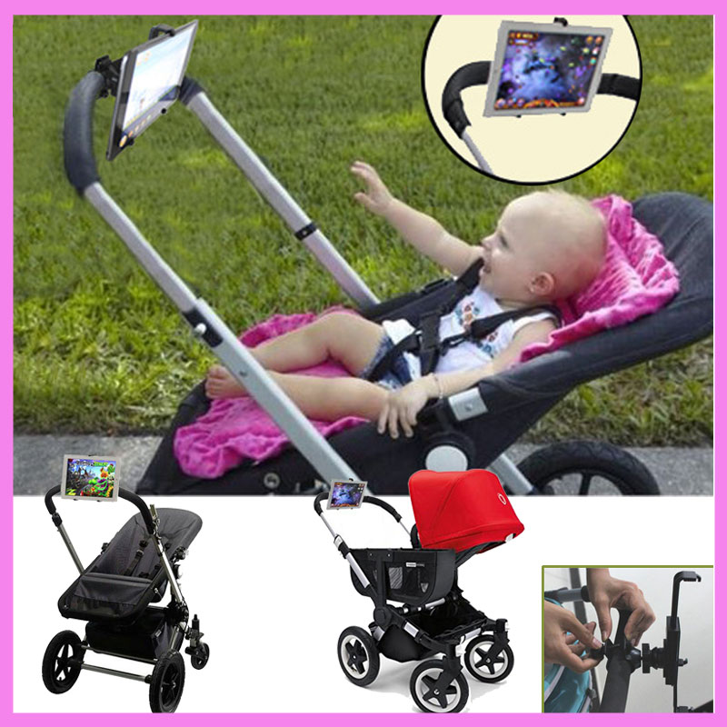 Baby Stroller Accessories Ipad Holder Stand Computer Tablet Trolley IPad Rack for Baby Listen To Nursery Rhyme or Watch Cartoon