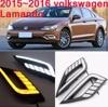 VW Lamando Daytime Light 2015 2017 Free Ship LED VW Lamando Fog Light 2ps Set Tiguan