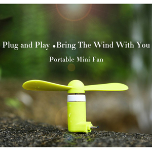 Image 3 - FFFAS Micro USB Cool Fans Mobile Phone USB Gadget Fan Summer USB Windmill Ventilador for Samsung Android Drop Shipping Wholesale