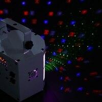 נשמע פעיל מקרן לייזר DMX512 LED RGBWY Strobe שלב האור