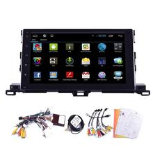 10.2′ Android 4.4 Car Stereo for Toyota HIGHLANDER 2015 in Dash Car no DVD GPS Navigation Player Auto Radio Video Bluetooth WIFI