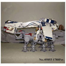 H HXY In Stock 05053 Star 1788Pcs Series Wars Genuine The Republic Dropship Set Building Blocks