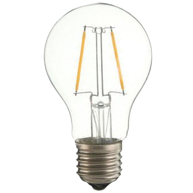 10x E27 A60 2W Edison Retro Vintage Filament COB LED Bulb Candle Light Lamp 5pcs e27 led bulb 2w 4w 6w vintage cold white warm white edison lamp g45 led filament decorative bulb ac 220v 240v