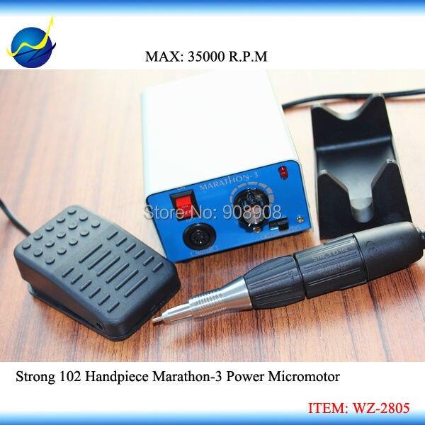 35 К RPM Электрический M3 Strong 102 оригинал Корея микромотор Шлифовальные станки для manicur зубные ювелирные изделия деревянные умереть камень анти...