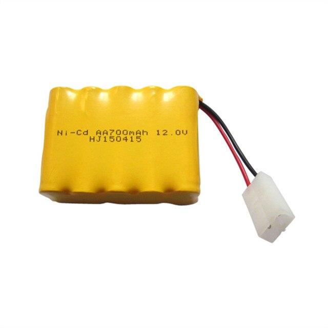 1pcs 12v Battery 700mah Ni Cd Aa Nicd Batteries Pack Rechargeable