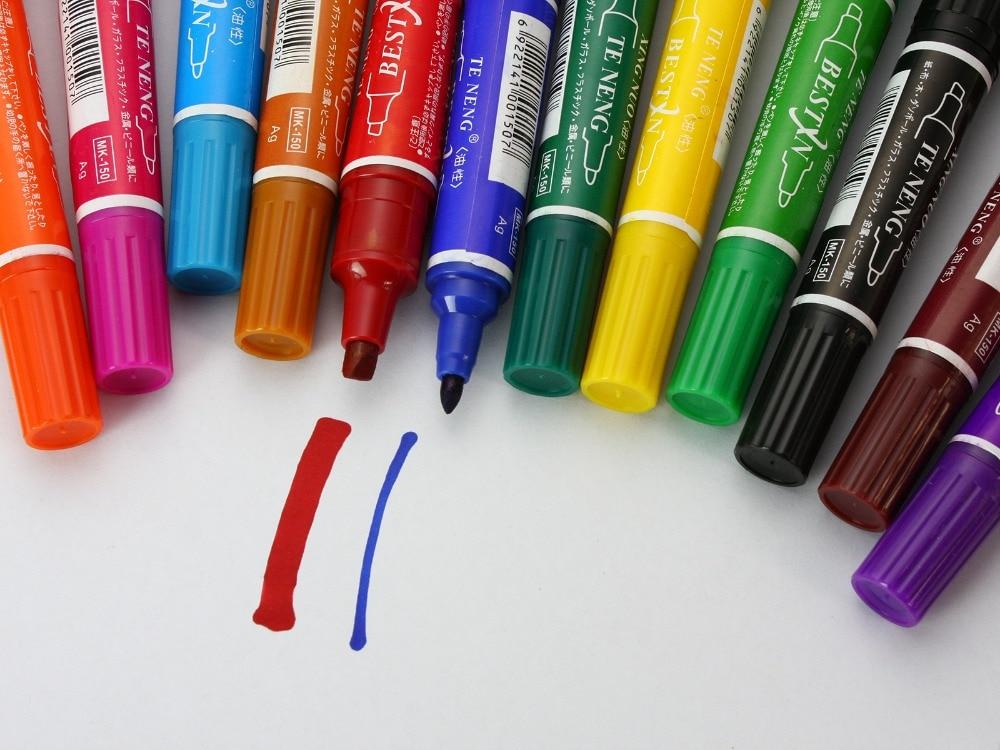 Bağlama Marker Set su geçirmez 12 Renk Fly; - Balık Tutma - Fotoğraf 3