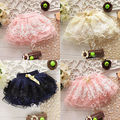 2017 Baby Girls Princess Mini Floral Summer Lace Tutu Dance Tulle  Skirt Party Short Skirts