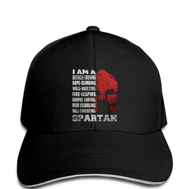 Men Baseball cap I AM A SPARTAN Baseball cap funny Hat novelty tsnapback  women 84cc1cb4a03