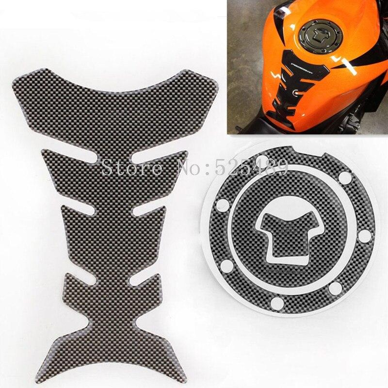 Motocikl Spremnik za gorivo Decal Pad + Plin čep poklopac poklopac - Pribor i dijelovi za motocikle