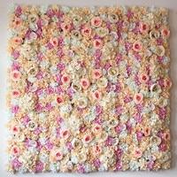 40X60cm Artificial Silk Rose Flower Wall Decoration Decorative 10pcs Lot Factory Wholesale