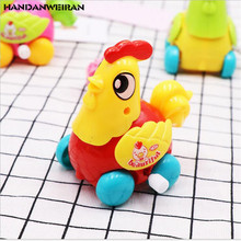 New 1pcs children puzzle on the winding animal clockwork toys Cute chick toy creative gift Small hot Random Color