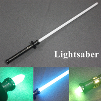 New Sale 6 Types Cosplay War Lightsaber With Metal Collection Laser Sword Slight Sound Emitting Light Boy Toys Sword Gift Toy
