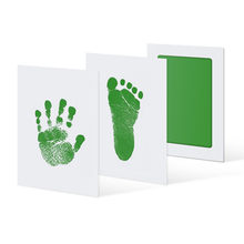 Wholesale Newborn Baby Handprint Footprint Pad Safe Non-Toxic Clean Touch Ink Pad Photo Easy To Operate Hand Foot Print Pad(China)