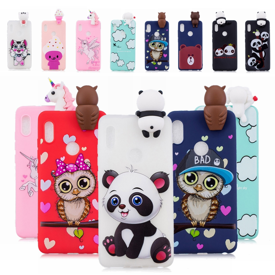 info for ba9e1 23f33 US $2.56 17% OFF|Xiaomi Redmi Note 5 case cover note5 Global Version back  cover silicone 3D Cute Cartoon case coque Redmi note 5 pro case Fundas-in  ...