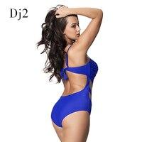 Плюс Размеры Плавание одежда Одна деталь Плавание костюм летние каникулы ванный комплект прозрачного кружева Плавание носить сексуальное