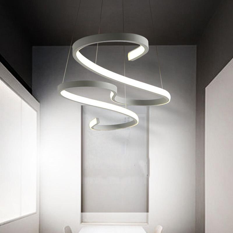 Постмодерн led подвесные светильники ресторан гостиная креативные подвесные лампы искусство спальня офис светодиодные кафе подвесные свет