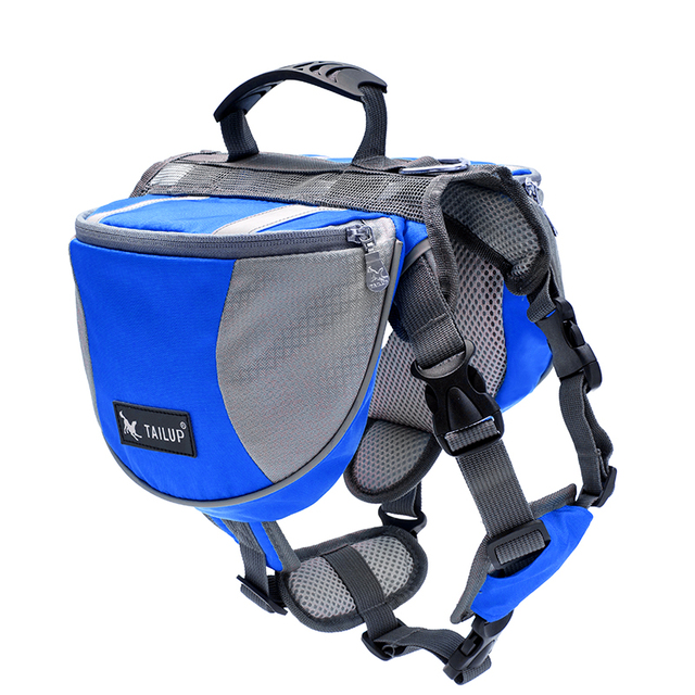 Dog Backpack Harness Quick Release Carriers