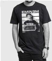Eminem Arresto t shirt da uomo Slim Shady Marshall musica rap causale t shirt design standard DEGLI STATI UNITI plus size S-3XL