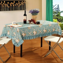 Pastoral style tablecloth Household modern decorative Dirt-resistant, skid-proof and waterproof
