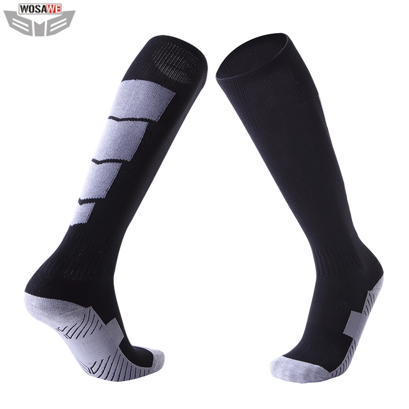 Motorcycle Socks Feet Protection Breathable Wicking Outdoor Skiing Running Sports Basketbal Motocross Bicycle Road Bike Socks image