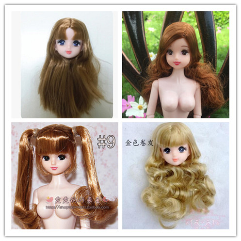 Free Shipping Girl Birthday Gift toys 1pcs original doll heads doll accessories For licca Doll цена