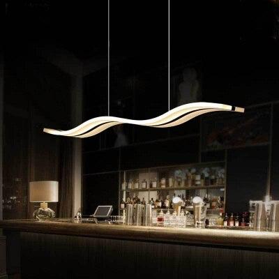 creative home lighting. creative home lighting modern design led acrylic shade s fishwave shape dinning hanging c