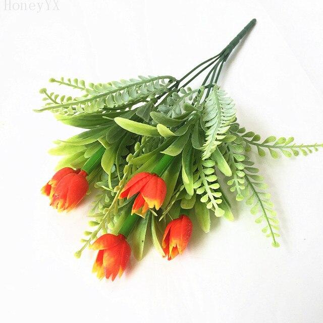 Orange Blume Buhne Dekoration Diy Hochzeit Einstellung Dekoration
