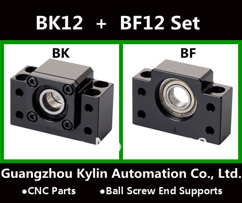 On Sale! BK12+BF12 Ball screw end supports for Ball screw SFU1605 support CNC XYZ parts bk17 bf17 ball screw end supports for ball screw sfu2505 sfu2005 sfu2510 support cnc xyz