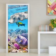 Jiadou Underwater World Coral Fish Modern Living Room Bedroom Waterproof  Wallpaper