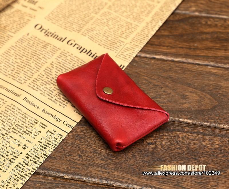 Vintage Genuine Leather Credit Card holder 19991# (8)