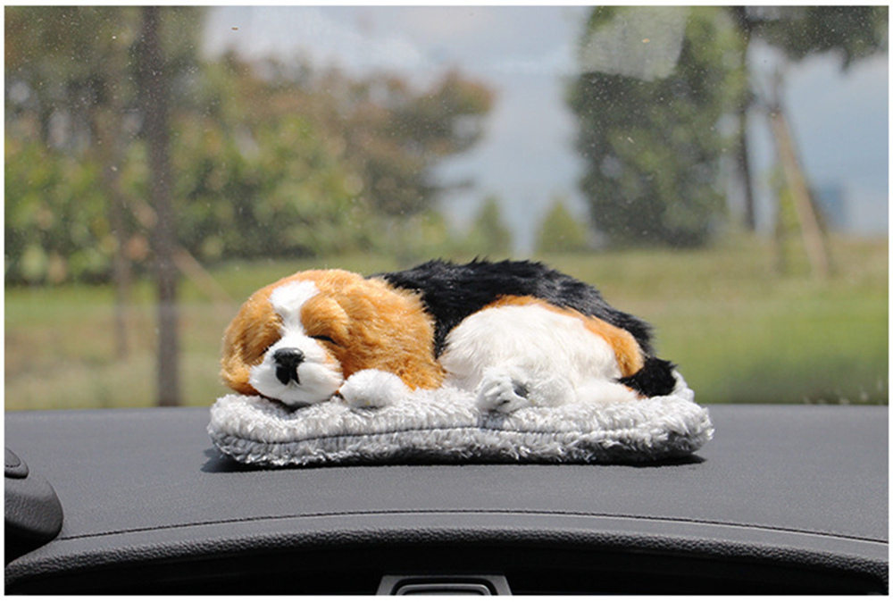 Lovely Car Decoration Dog With Air Purifier Bamboo Charcoal Bag Vivid Cat for Home Office Car Styling Auto Accessories Ornaments