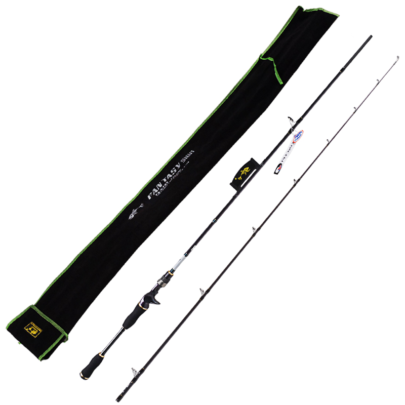 New Baitcsting Fishing Rods Carbon  M/ML/MH1.8m 2.1m 2.4m Varas De Pesca Fishing Pole For Carp Fish Peche fish hunter road asian pole lightning rod grips quake 2 2 m mh tune fishing rods lrtc3 762mh