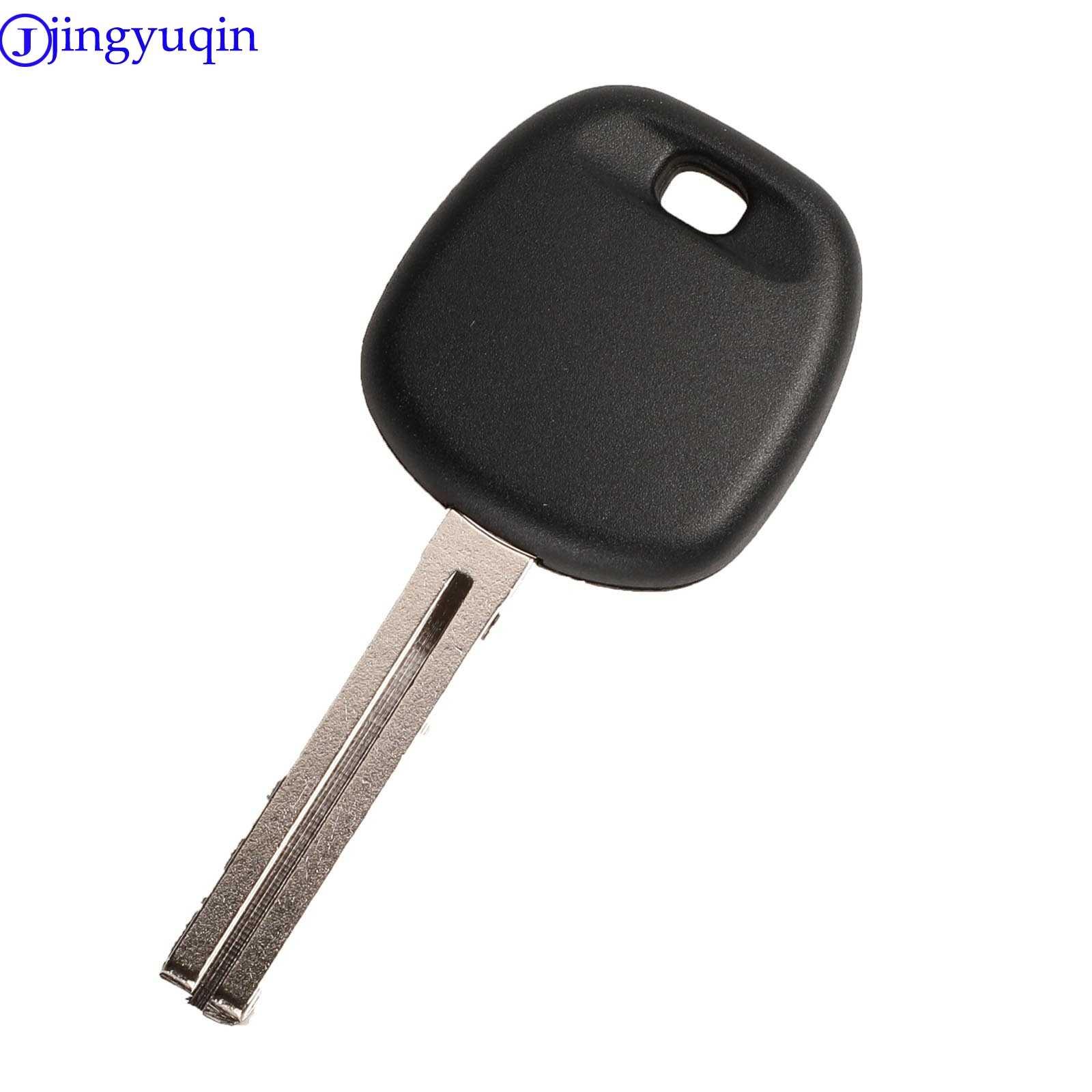 Jingyuqin Transponder sleutel voor Toyota Vervanging Afstandsbediening Autosleutel Shell Case Fob Met 4D67 Chip Ongesneden TOY43 Blade