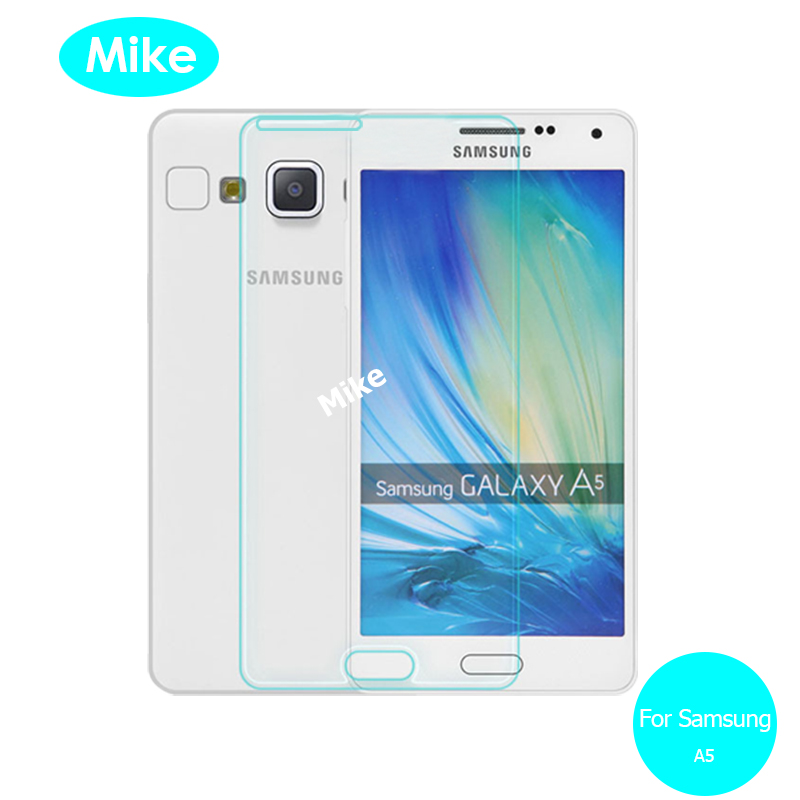 2PCS For Samsung GALAXY A5 Tempered Glass Screen Protector 9h Safety Protective Glass on A 5 2015 500F A500F SM-A500F