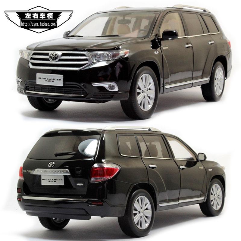 2012 Toyota Highlander Limited: The Original 1:18 Toyota Highlander 2012 TOYOTA HIGHLAND