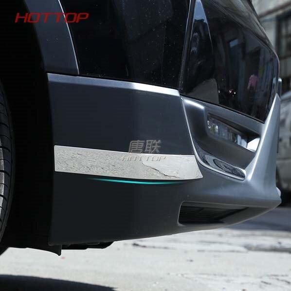 FIT For Honda CRV CR V 2017 2018 car body front+rear back Bumper corner protection trim frame board stainless steel