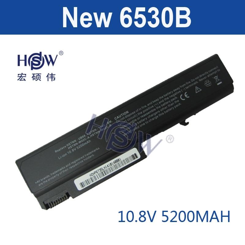 HSW 6cell laptop Battery for HP 6530B EliteBook 6930p 8440p 8440w Business Notebook 6500b 6530b 6530s 6535b 6730b 6735b bateria