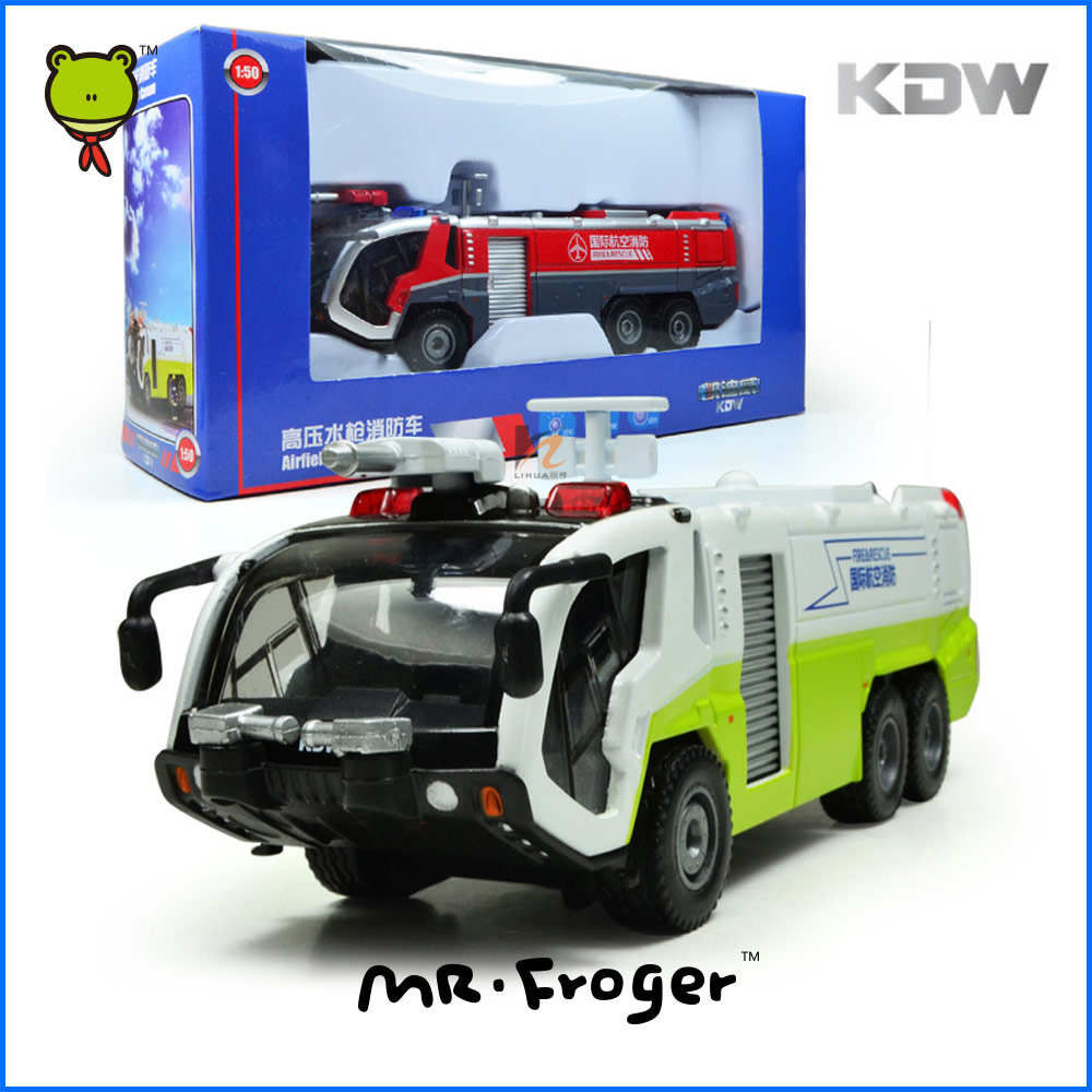 Mr.Froger KDW Fire Truck Toys Diecast Model Scale 1:50 Cars s