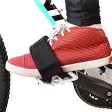 1 para pasków pedałów paski pedałów dla dzieci paski pedałów pedał rowerowy paski rowerowe tanie tanio CN (pochodzenie) Other 40*5*0 5cm Rowery górskie Rowery drogowe Bike pedal straps